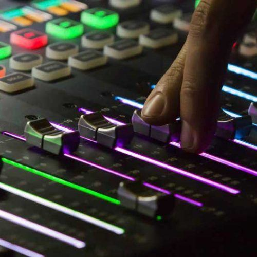 Studio mixer - LDC Radio - Leeds No.1 Dance Music FM Radio Station-