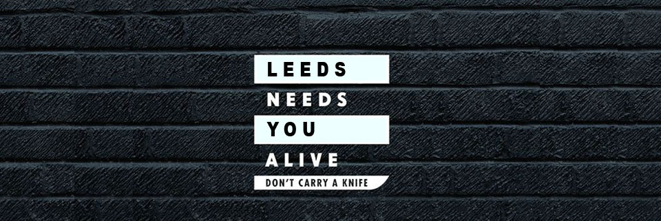 Knife Crime web banner - LDC Radio - Leeds No.1 Dance Music FM Radio Station-