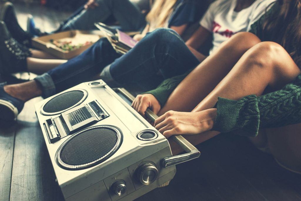 Listening to music - LDC Radio - Leeds No.1 Dance Music FM Radio Station-