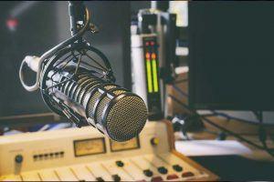 Studio mic - LDC Radio - Leeds No.1 Dance Music FM Radio Station-