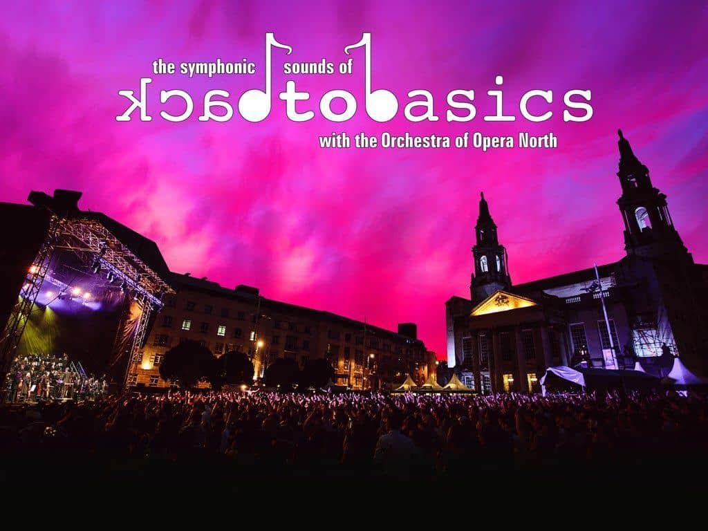 Symphonic Sounds of Back to Basics 2019 banner - LDC Radio - Leeds No.1 Dance Music FM Radio Station